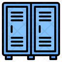 Locker Cabinet Storage Icon