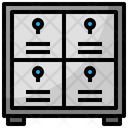 Locker Luggage Doors Icon