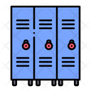 Lockers School Closet Icon