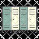 School Locker Lockers Icon