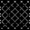 Lockers Almirah Cabinets Icon