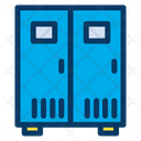 Lockers Secure Security Icon