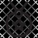 Locket Necklace Jewelry Icon