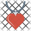 Locket Necklace Jewelery Icon