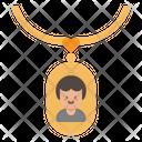 Locket Necklace Accessory Icon