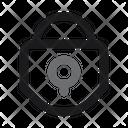 Locking Lock Protection Icon