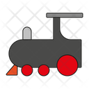 Locomotive Railway Steam Train Icon