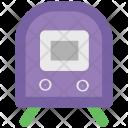 Locomotive Tramway Subway Icon