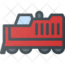Locomotive Tranportation Shipping Icon