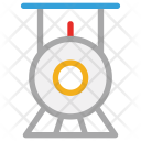Locomotive Engine Retro Icon