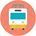 Locomotive Subway Train Icon