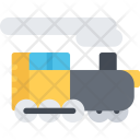Locomotive Delivery Shipping Icon