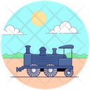 Locomotive Train Goods Train Train Engine Icon