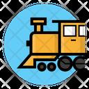 Locomotive Train Transportation Icon