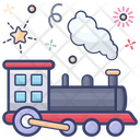 Locomotive Train Goods Train Transport Icon