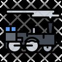 Locomotive Train Steam Icon