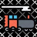 Locomotive Vehicle Machine Icon