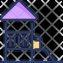 Lodge Cottage Hut Icon