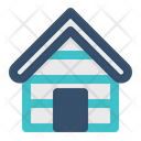 Lodge House Lodging Icon