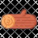 Log Tree Wood Icon
