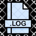 Log File File Extension Icon