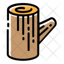 Log Camping Bonfire Icon