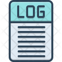 Log Log In Register Icon