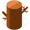 Log Wooden Isometric Icon