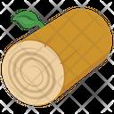 Log Cut Tree Icon