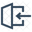 Log In Sign Icon