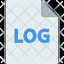 Log File Letter Icon
