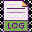 Log File Log Document File Icon