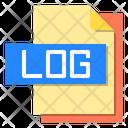 Log File File Type Icon