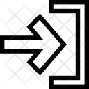 Account Arrow Log Icon