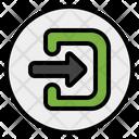 Log In Login Enter Icon