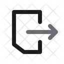 Log Out Exit Close Icon