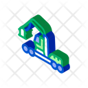 Logging Industry Machine Icon