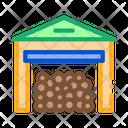 Logging Storage Industry Icon