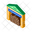Logging Storage Industry Icon