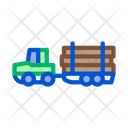 Logging Delivery Transport Icon