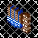 Logging Tree Truck Icon