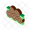 Tree Trunk Pile Icon