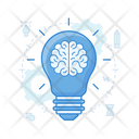 Logical Thinking Brain Idea Great Idea Icon
