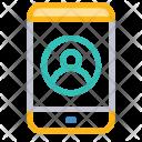 Login Mobile Account Icon