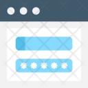 Login Web Security Icon