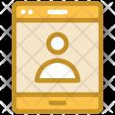 Login Screen Mobile Icon