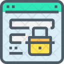Web Security Login Icon