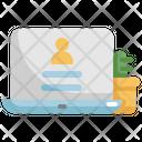 Login User Laptop Icon