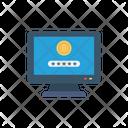 Login Password Bitcoin Icon