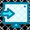 Login Laptop Profile Icon